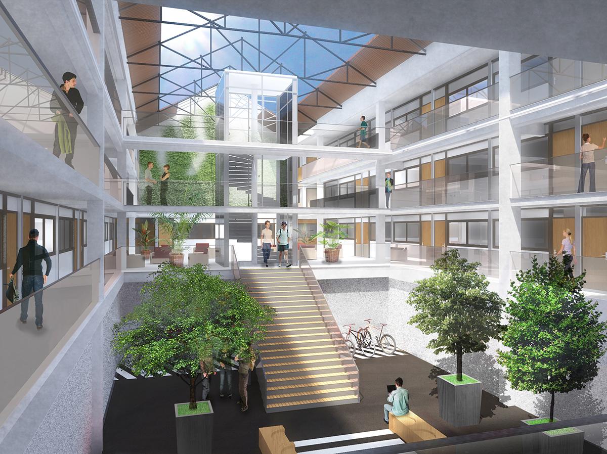Résidence étudiante Stud'air AnaHome Immobilier Lyon 5