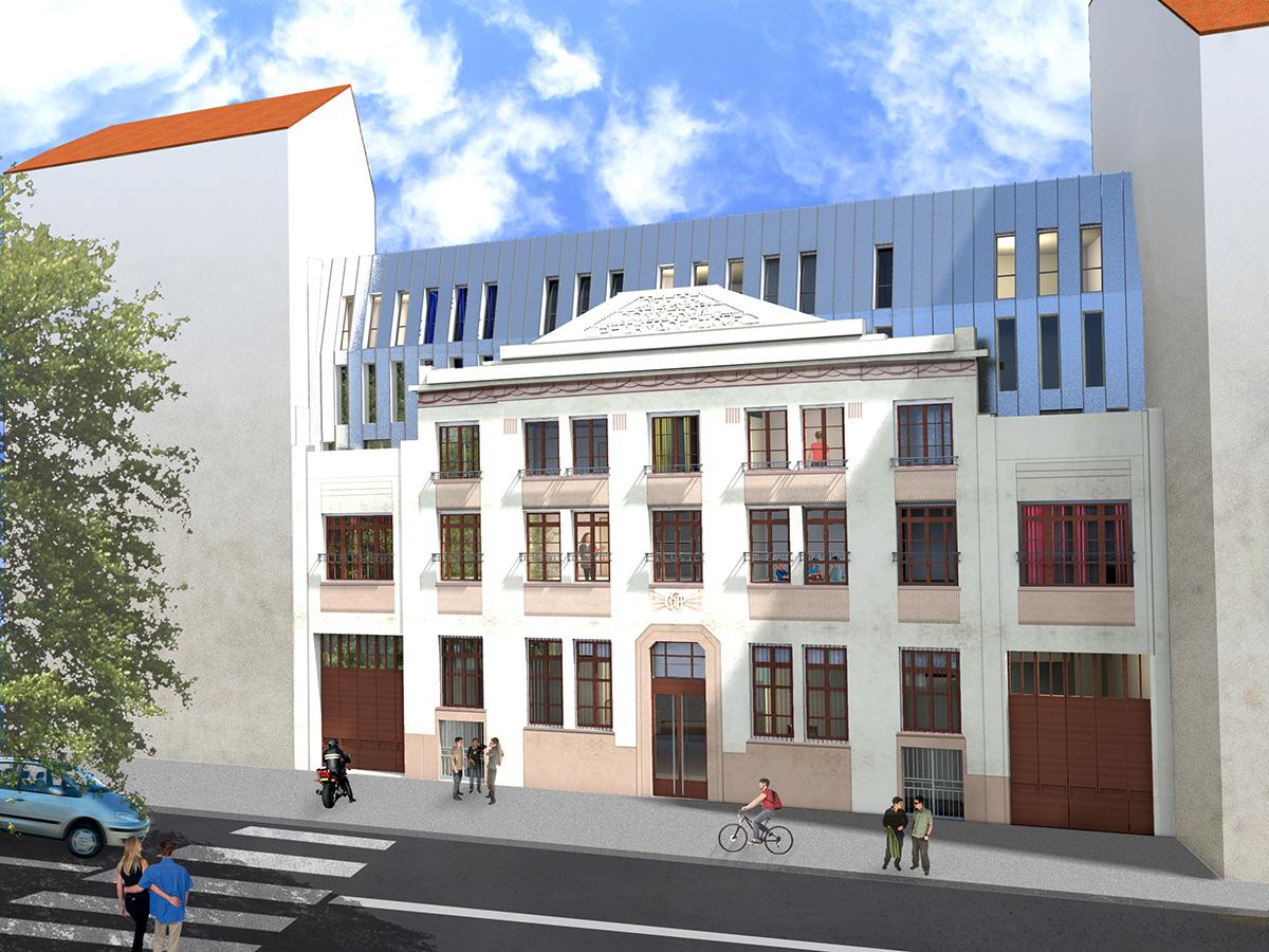 Résidence étudiante Stud'air AnaHome Immobilier Lyon 6