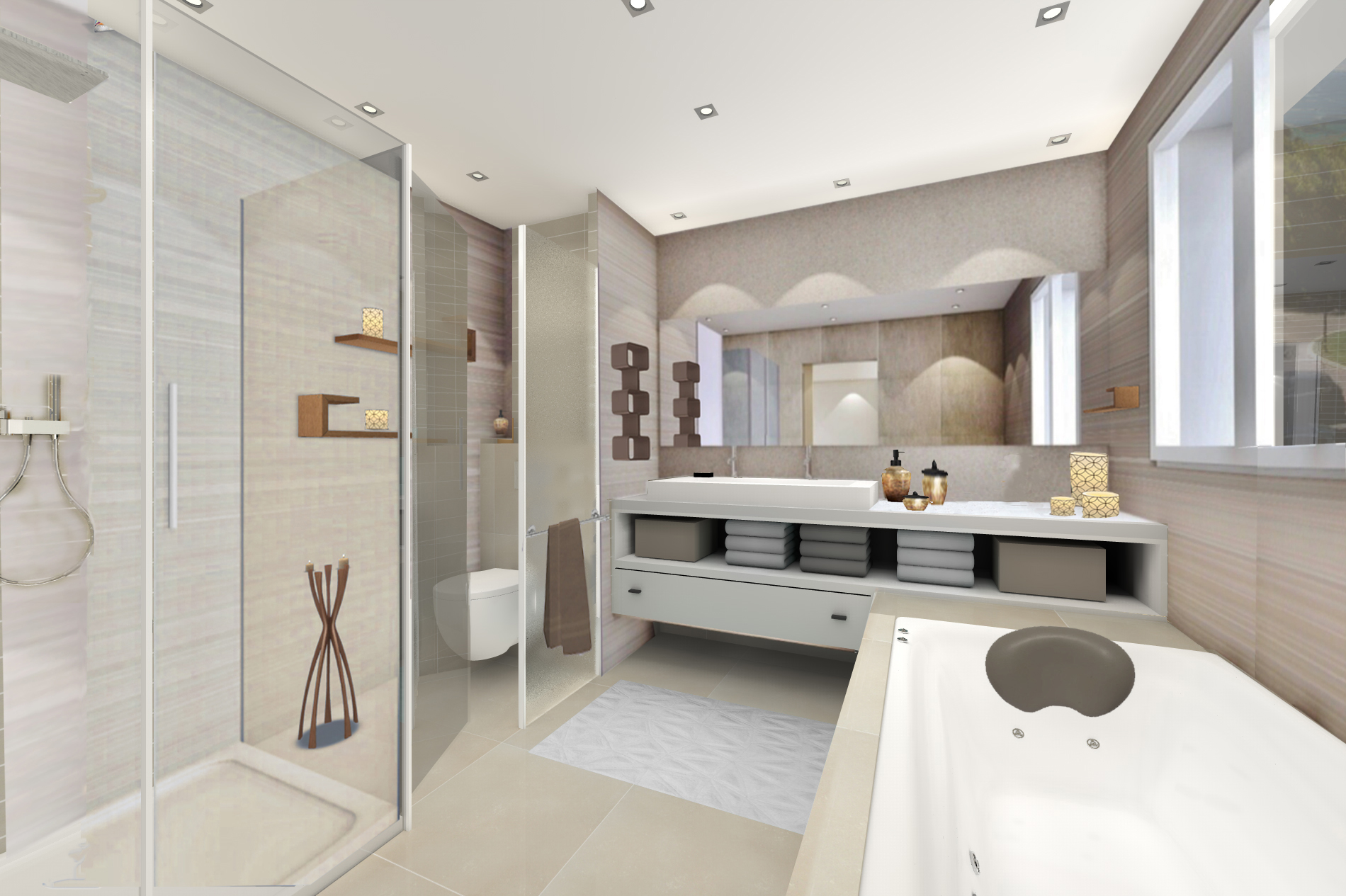 Cannes croisette anahome immobilier anahome immobilier for Idee chambre parentale avec salle de bain