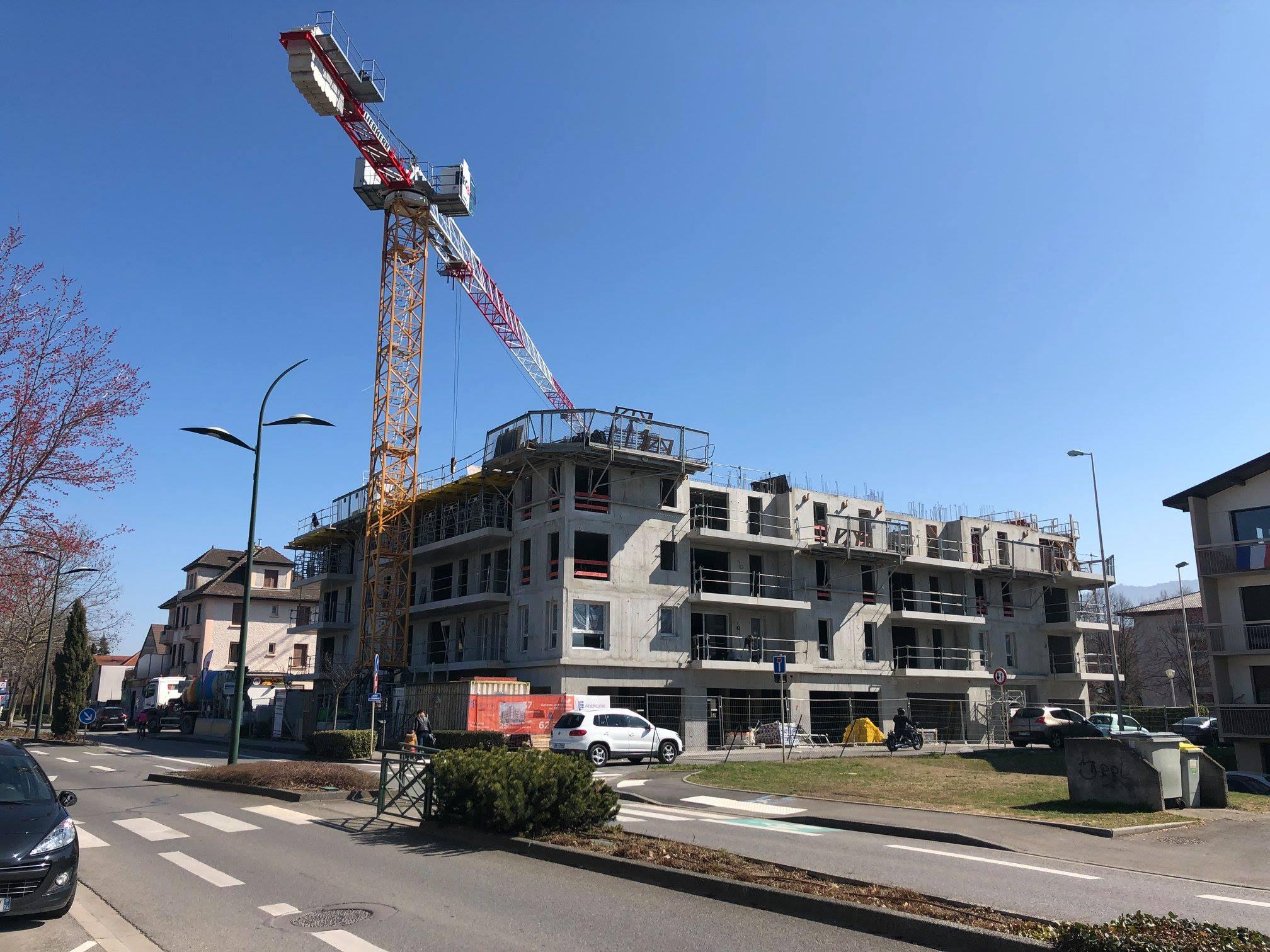 AnaHome Immobilier Tendance Thonon Les Bains chantier