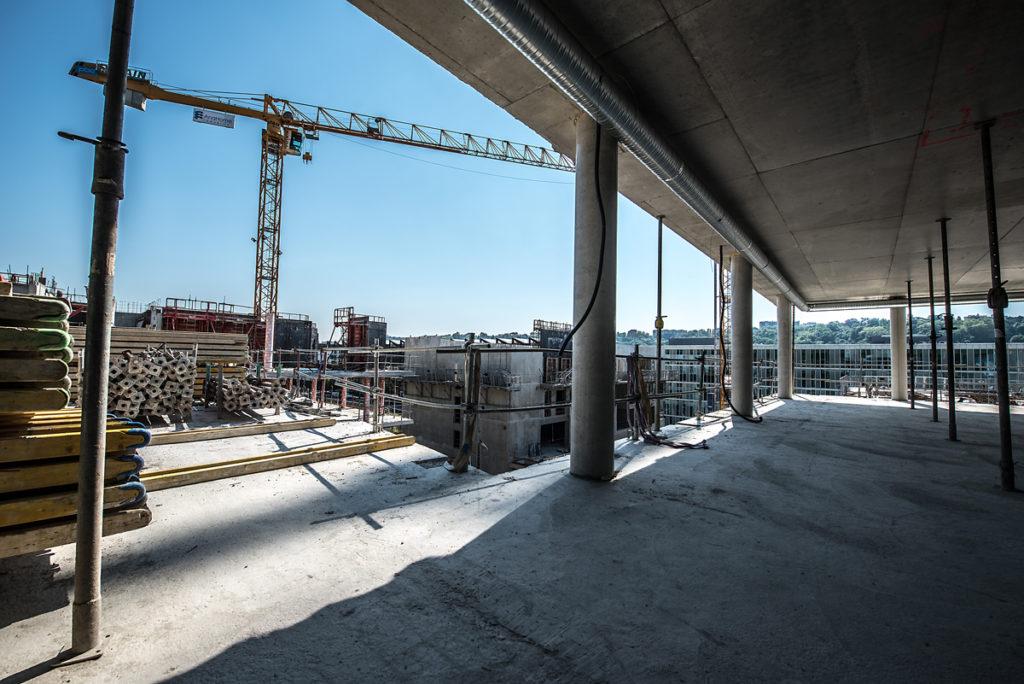 Chantier Le Blok siège social anahome immobilier lyon avril 2020 3