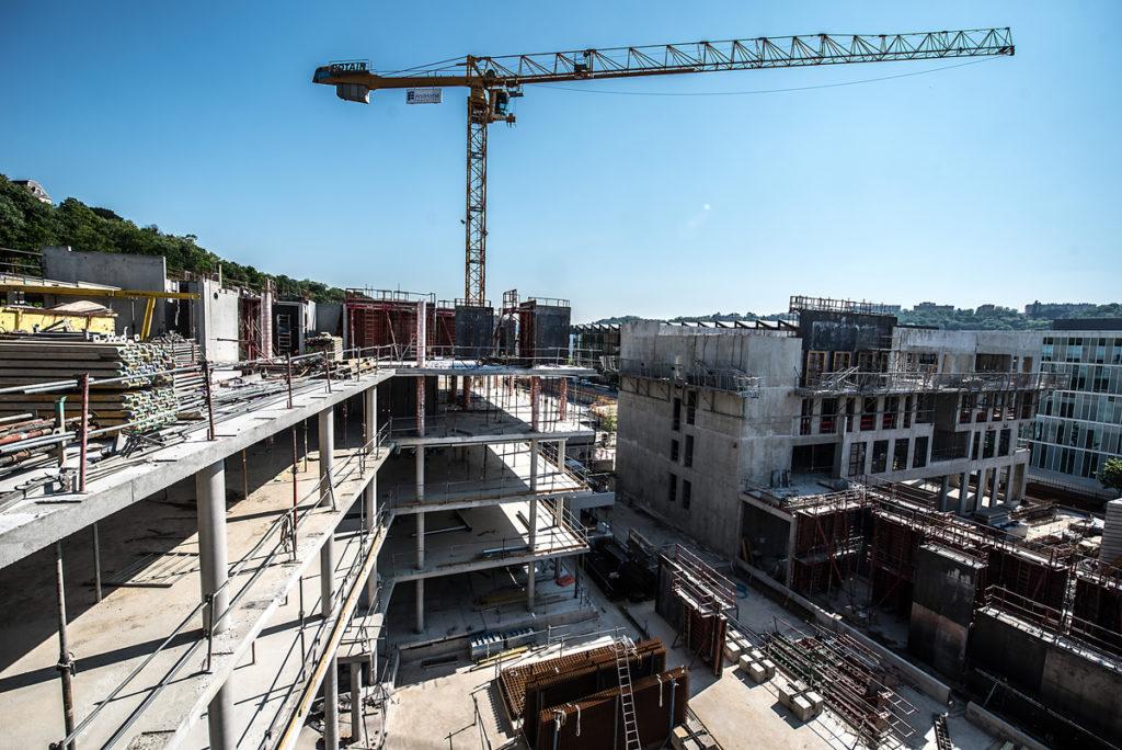 Chantier Le Blok siège social anahome immobilier lyon avril 2020 4