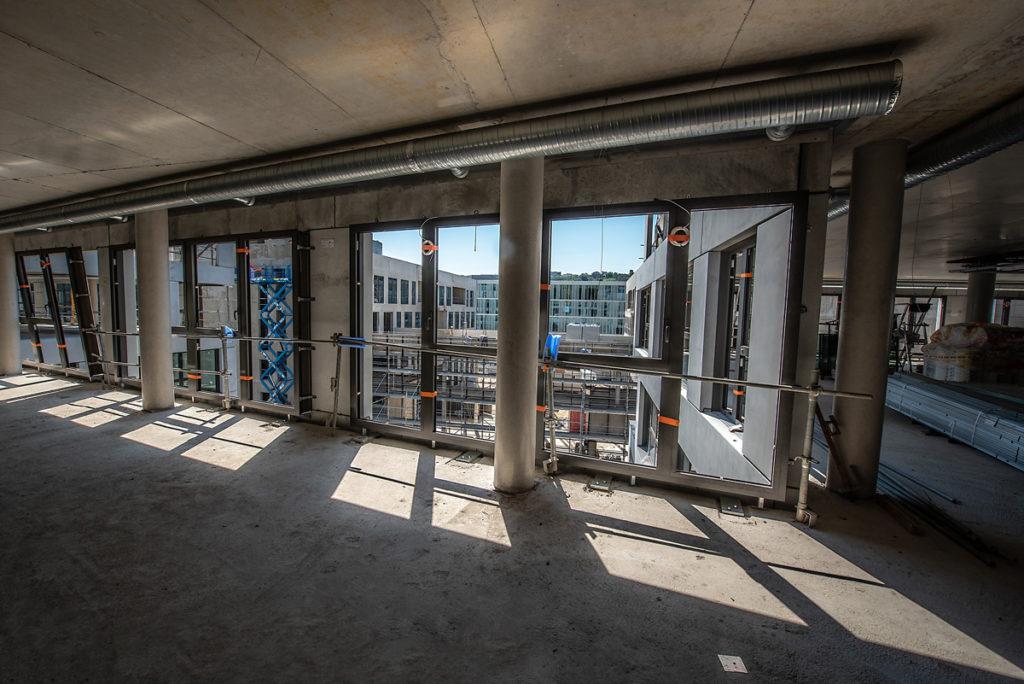 Chantier Le Blok siège social anahome immobilier lyon Juin 2020 3