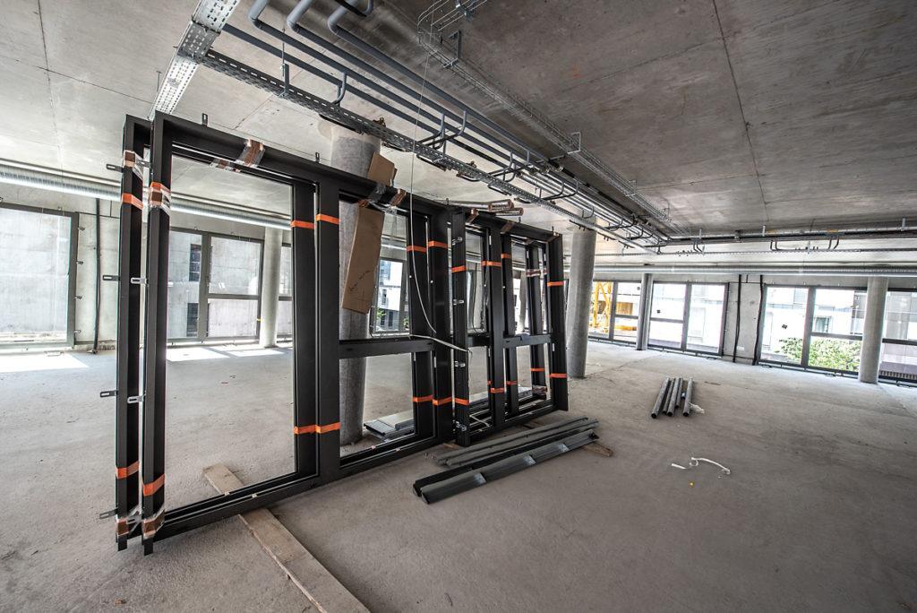 Chantier Le Blok siège social anahome immobilier lyon Mai 2020 3