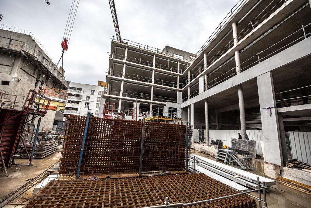 Chantier Le Blok siège social anahome immobilier lyon Mai 2020 2